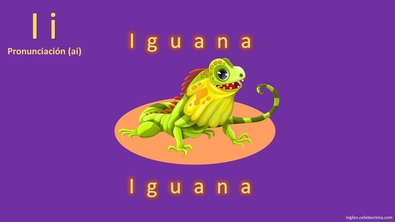 Alfabeto (abecedario) en inglés para niños con imágenes